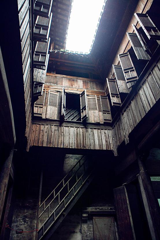 木质的建筑
