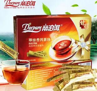 """听说""""帝泊洱""""是个不错的产品,是高倍普洱茶精华吗"""