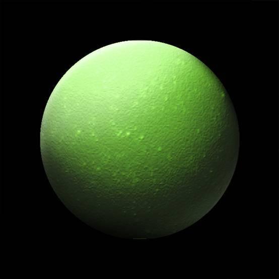 显微镜下的绿茶