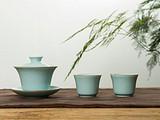 自从交了学茶的女友,龙泉青瓷大师终于做出了绝美又好用的茶器