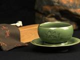 茗星私享丨翁永强,做有温度的青瓷茶器
