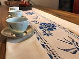 茗星私享丨叶丽娜,让手工土布茶席贴近生活