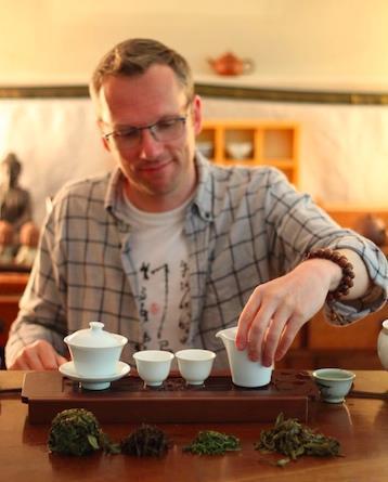 西雅图的外国茶友