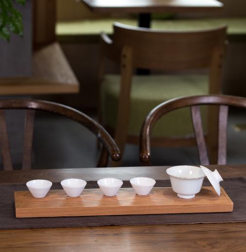 拼件丨便携干泡茶台,进口原木整块雕刻、手工打磨,经久耐用