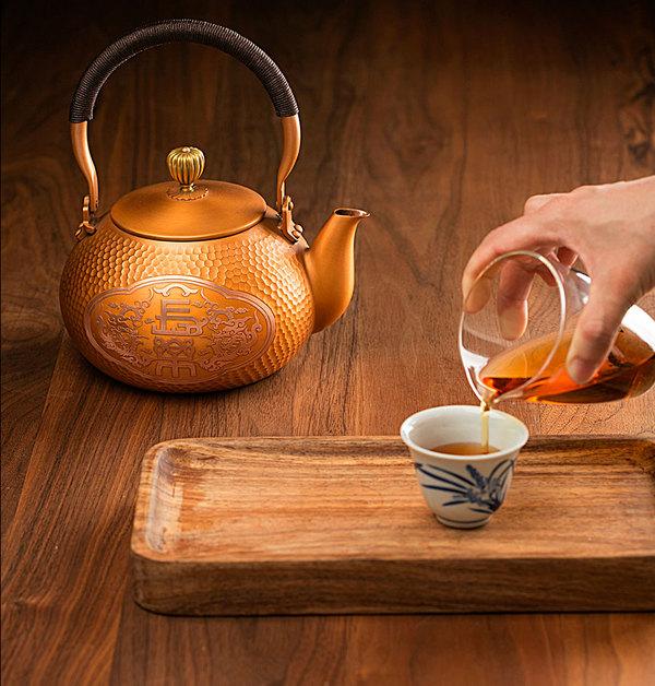 铜壶•龟纹长乐壶
