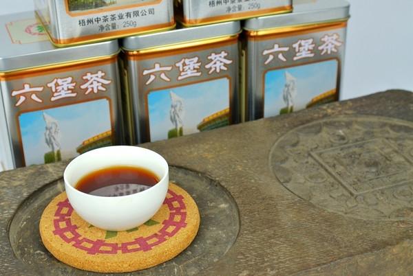 梧州六堡茶蜚声东南亚,保健功效初现