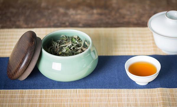 茶席,储茶罐