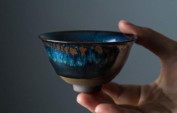 茶杯·黑釉窑变天目系列