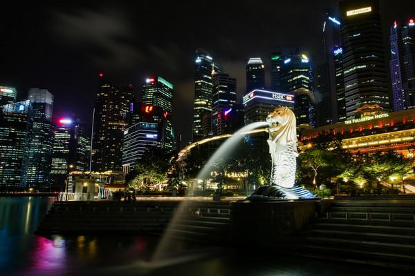 鱼尾狮,新加坡