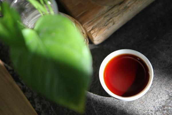 熟普,茶汤