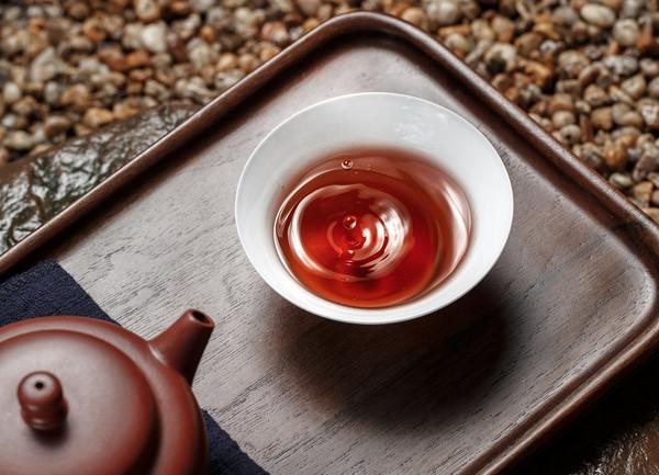 茶汤,熟普