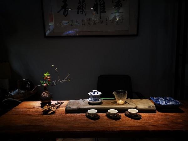 茶席,插花