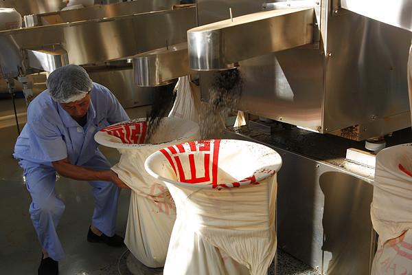 茶厂工人,制茶机器