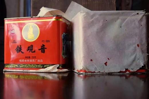 1998年安溪凤山茶厂原铁罐铁观音