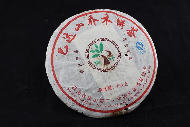 2007年巴达山青饼