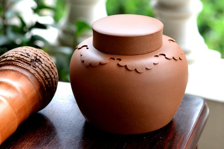 【冝園】明式披肩茶叶罐