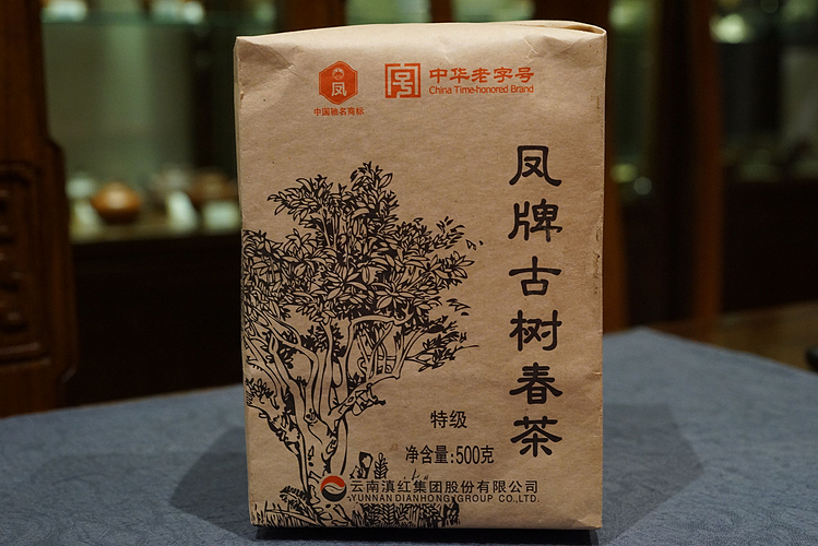 2012年凤牌普洱古树春茶