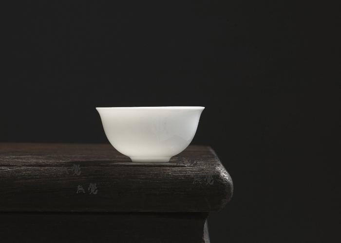 蛋壳杯 薄胎工夫茶杯 敞口形
