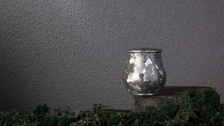 水滴形斑锡茶叶罐,高纯度锡原料,设计小巧,精细打磨,储茶良器