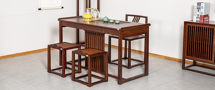 新中式茶家具套组,赠1188元智能烧水壶