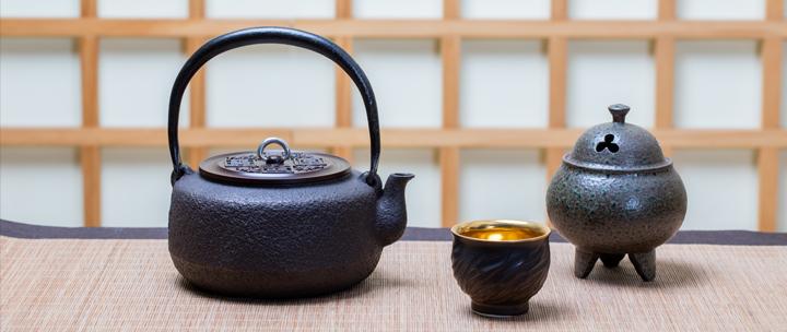 日式传统工艺铁壶 纯手工打造 盛虎堂出品