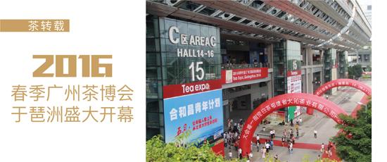 2016广州茶博会盛大开幕