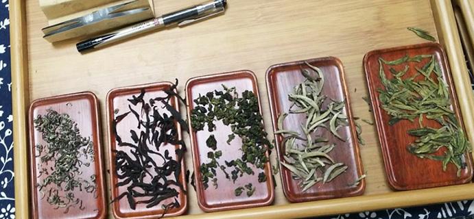 茶问答 | 新友求助  请问,这几种茶叶叫什么名字?
