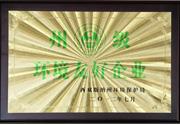 2012年 州级环境友好企业