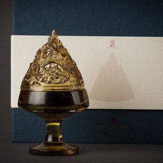琉璃博山香炉 博物馆藏品的古器复刻