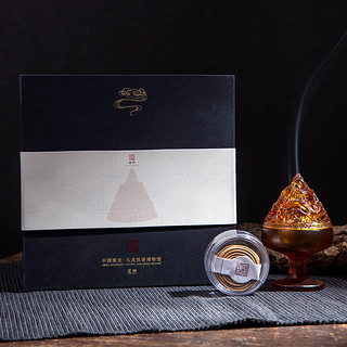 豆式琉璃博山炉