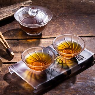 琉璃茶具(盖碗/品茗杯/茶盘可选)