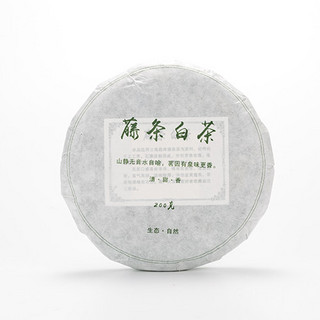 滇白 云南大叶种藤条白茶饼