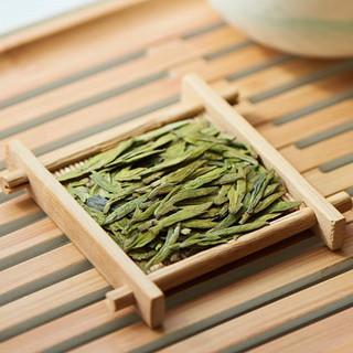 贡牌·2021明前西湖龙井茶(梭形铁罐装100g)
