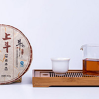 2012年上斗生普饼,6年干仓陈化,口感协调、鲜明。