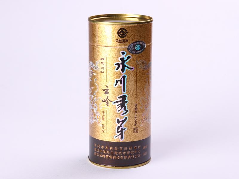 极川100克永川秀芽绿茶价格875元/斤