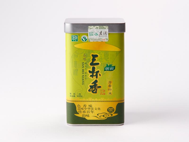 明前罐装泰顺三杯香绿茶价格156元/斤