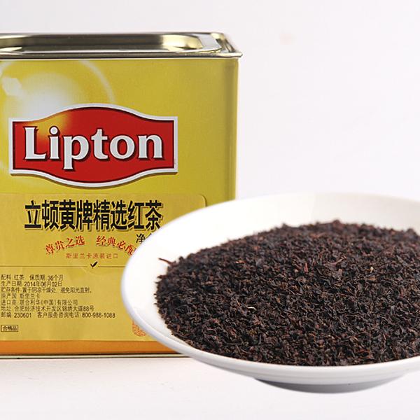 立顿黄牌精选红茶红茶价格58元/斤