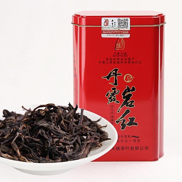 丹霞岩红(铁罐装)红茶价格500元/斤