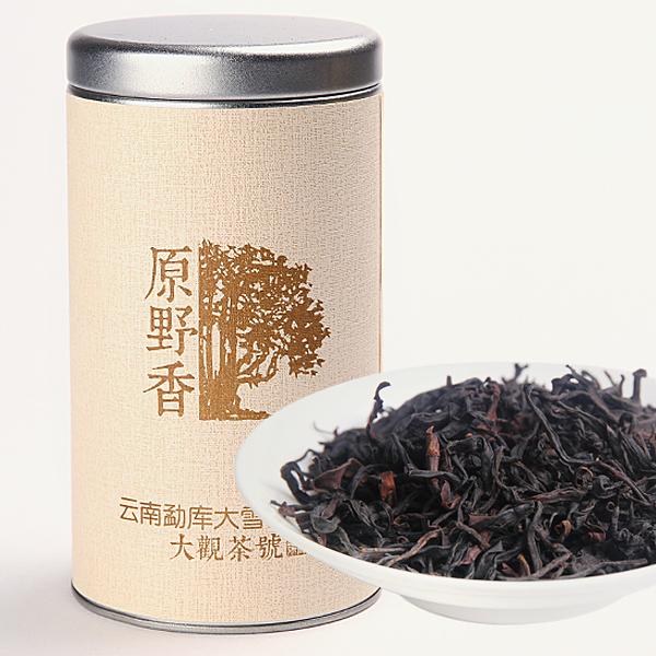 原野香 大雪山野生古树红茶红茶价格800元/斤