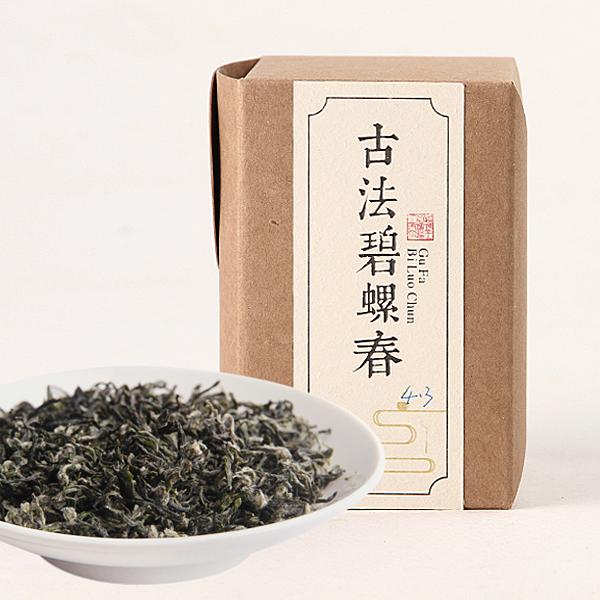 古法碧螺春绿茶价格4000元/斤