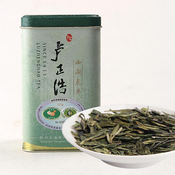 小金罐特级西湖龙井绿茶价格196元/斤