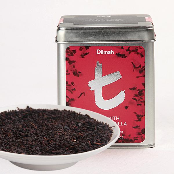 Dilmah 锡兰红茶t系列玫瑰香草味斯里兰卡红茶红茶价格640元/斤
