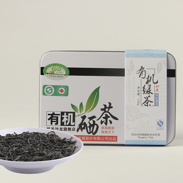 有机硒茶绿茶价格250元/斤