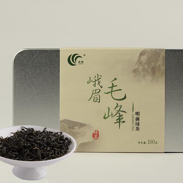 峨眉毛峰绿茶价格245元/斤