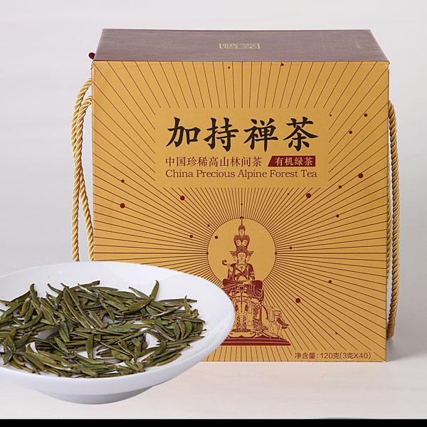 绿茶峨眉雪芽加持禅茶泡法