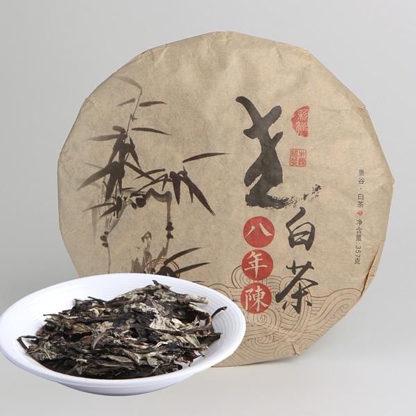 八年陈老白茶(2016)