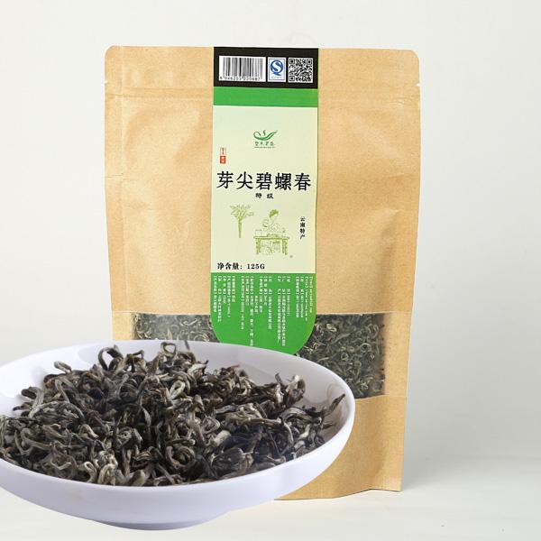 特级芽尖碧螺春(2017)绿茶价格400元/斤