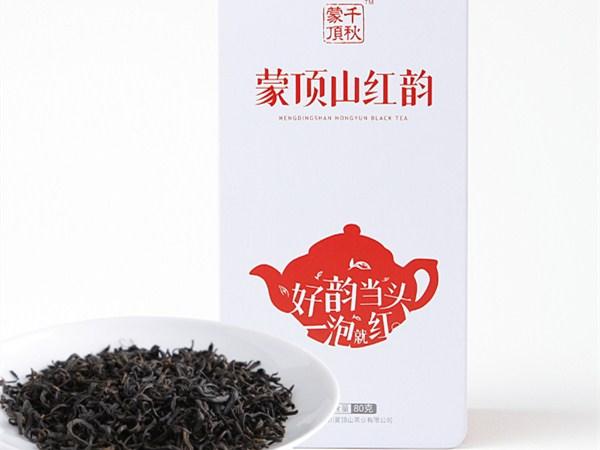 蒙顶山红韵(2017)红茶价格550元/斤