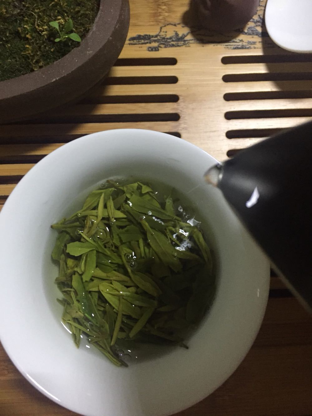 【越乡龙井试用报告】茶缘