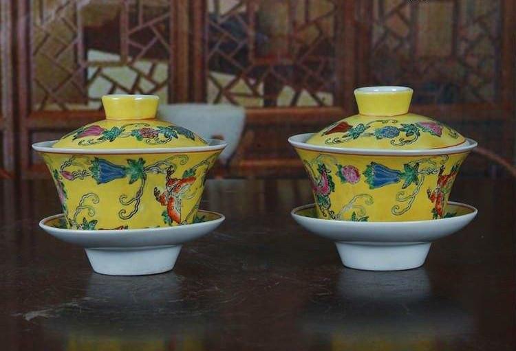 为什么好茶都是用陶瓷盖碗泡!